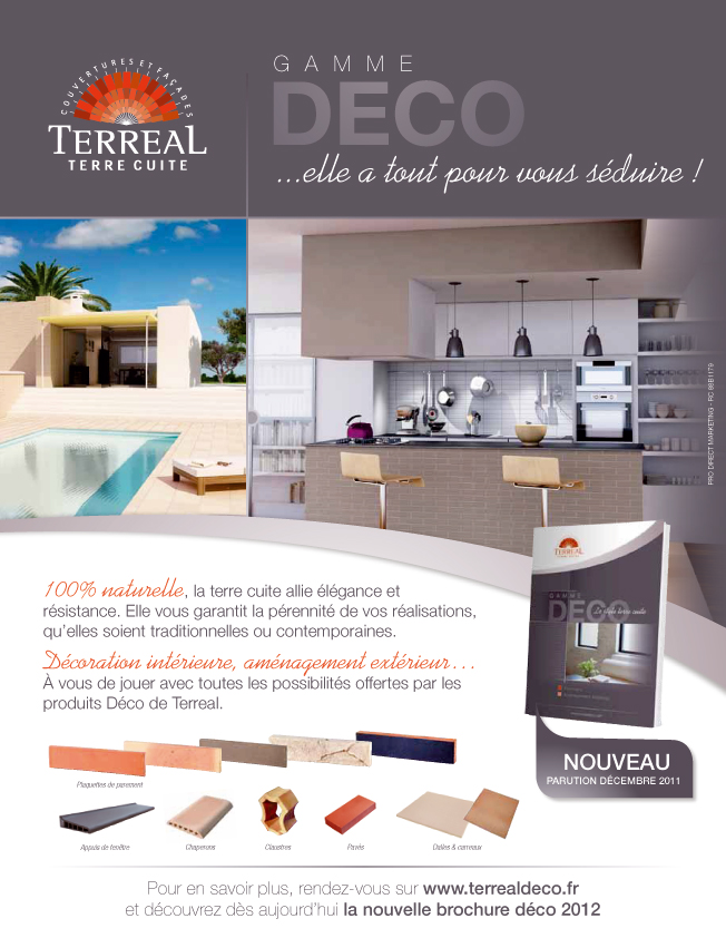 catalogue terreal deco 2012 d j disponible terreal